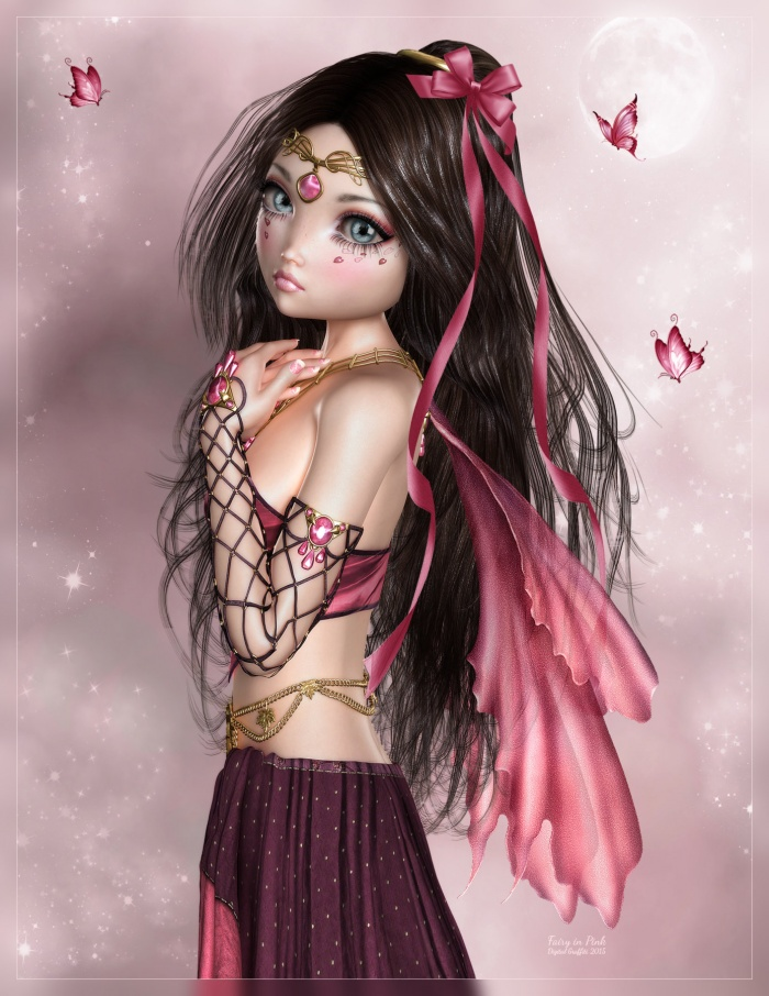 Fairy in Pink